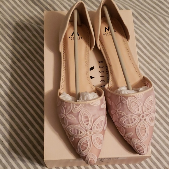 Madison Shoes - Pink flats